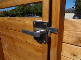 fence gate lock both sides