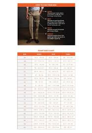 Dockers Men S Pants Size Chart Pants Images And Photos