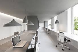 office space interior design. This Interior Design Solution Is Based On Pure Minimalism In A Bright And Open Work Environment Office Space