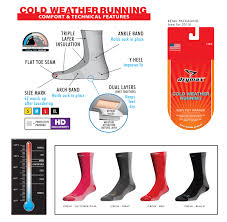 Drymax Cold Weather Running Socks Over The Calf Otc