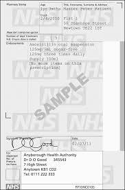 Prescription Writing Medicines Guidance Bnf Content
