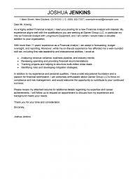 Resume Financial Analyst Cover Letter Sample Best Inspiration For