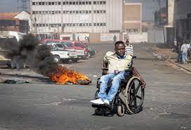 jailing of ex-leader Zuma ...