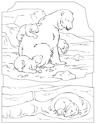 Small Picture Polar bear coloring pages mom and baby ColoringStar