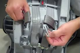 how to re thread the harness on a graco infant car seat graco car seats