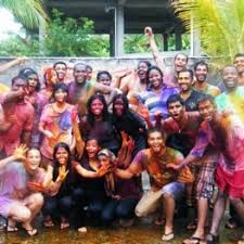 Medicine International College Holi Of University American Celebration