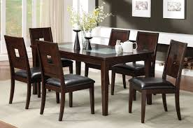 charming walnut dining table set 12 pretty modern glass and wood 22 designs in dark color with ed chairs