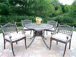 wrought iron patio dining table 5 piece wrought iron patio set white metal garden furniture stunning wrought iron patio dining table