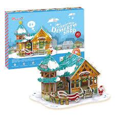 <b>Рождественский домик</b> 3 <b>CubicFun</b> (с подсветкой) p649h ...