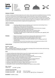 Senior Chef Resume Template