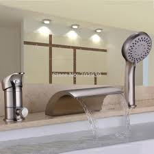 bath shower single handle roman tub faucet with handshower and wall mount roman tub faucet with