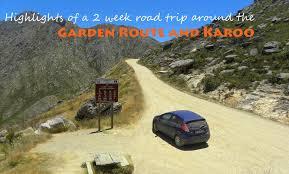 week road trip around the garden route