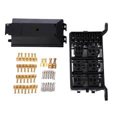 online buy wholesale car fuse box from china car fuse box Fuse And Relay Box For Automotive auto fuse box 6 relay holder 5 road the nacelle insurance car insurance fuse holder box Automotive Fuse and Relay Blocks