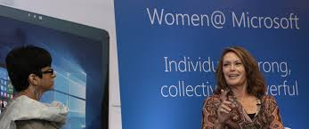Peggy Johnson on business models, start-ups and diversity at Microsoft -  Microsoft News Center India