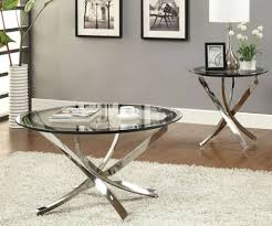 Glass Round Side Table Silver Side Tables Silver Tree Stump Side Table Zoom Pictures