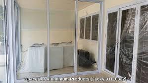 additional room with heavy duty aluminium sliding glass door