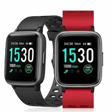 ID205 Smart Watch Men Heart Rate Monitor Activity Tracker Smart ...