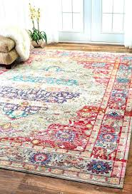 rust colored rugs best of bohemian where to find a more rug runners bright runner