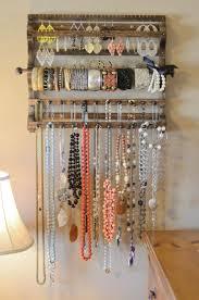 Diy Jewelry Organizer The 25 Best Hanging Jewelry Organizer Ideas On Pinterest Diy