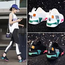Dumoo Girl Sneakers Shoes <b>Women</b> White/Black Breathable ...