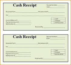 Cash Receipts Template Excel Excel Sales Receipt Template Free Free ...