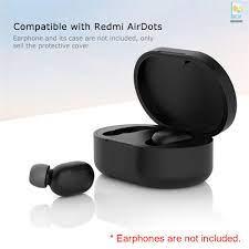 Mới Vỏ Bảo Vệ Hộp Sạc Tai Nghe Không Dây Xiaomi Redmi Airdot Bằng Silicon 8  Màu Tùy Chọn - Khác
