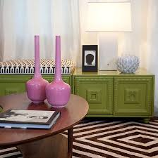 Lime Green Decorative Accessories Trendy Color Combo Hot Pink Lime Green 19