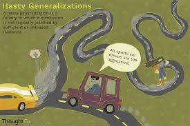 Definition And Examples Of Hasty Generalizations