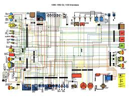 honda gl1100 aspencade gl1100 interstate 1982 color schematic 463 kb