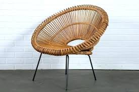M Vintage Wicker Chair Furniture