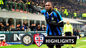 INTER - CAGLIARI 4-1 - HIGHLIGHTS 2020