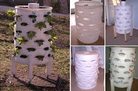 barrel garden. DIY Barrel Planter Garden T