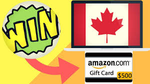 how to win a 500 amazon gift card for free canada