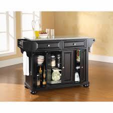 crosley furniture alexandria solid granite top kitchen island com