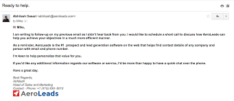 email followup 5 sales follow up email templates for a winning sales campaign