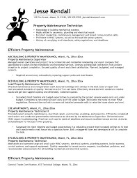 Maintenance Job Resume Objective Collection Of solutions Building Maintenance Supervisor Resume 49
