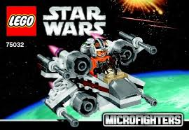 <b>LEGO 75032</b> X-Wing Fighter Instructions, <b>Star Wars</b> Microfighters