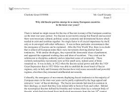 why did fascist parties emerge in so many european countries in document image preview