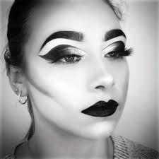 black white photography makeup lesson