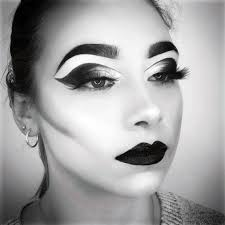 black white photography makeup lesson