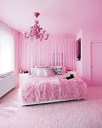 Pink-Rugs-in-Beautiful-Decoration-Modern-Pink-Bedroom-