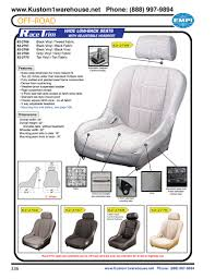 empi race trim high back performance offroad racing suspension bucket seats black or grey vinyl grey or tweed fabric for autos trucks boats vw