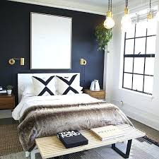 dark blue bedroom walls. Blue Walls Bedroom Modern With A Dark Accent Wall Feature .