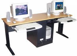 Computer Workstation Desk Design : Dawndalto Home Decor  Computer   Regarding Computer Workstation Desk (