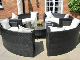 circular outdoor furniture round table outdoor furniture covers