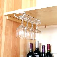 wall wine glass holder racks hanging contemporary rack mounted shelf wall wine