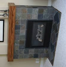 idea slate tile fireplace surround 21 garys slate fireplace project ceramic tile advice forums john bridge