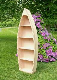 6 ft unfinished row boat bookshelf bookcase shelves by spinad1 199 00