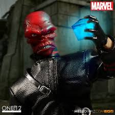 Captain America Red Skull One:12 Collective Action Figure Mezco Toyz  Grown-Up Toys Toys & Games