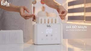 Máy hâm sữa tiệt trùng điện tử Fatzbaby Duo 3 FB3093VN
